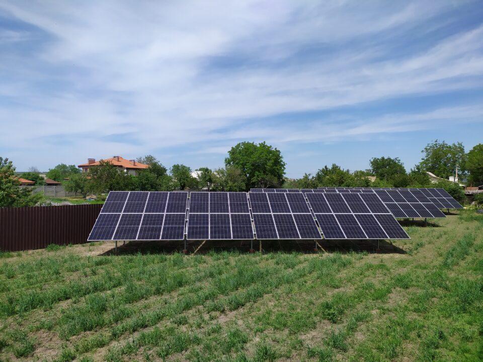 Солнечная станция Ecofoton в Подгородное
