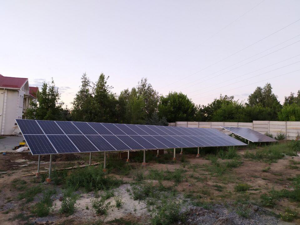 Солнечная станция Экофотон в г. Кривой Рог