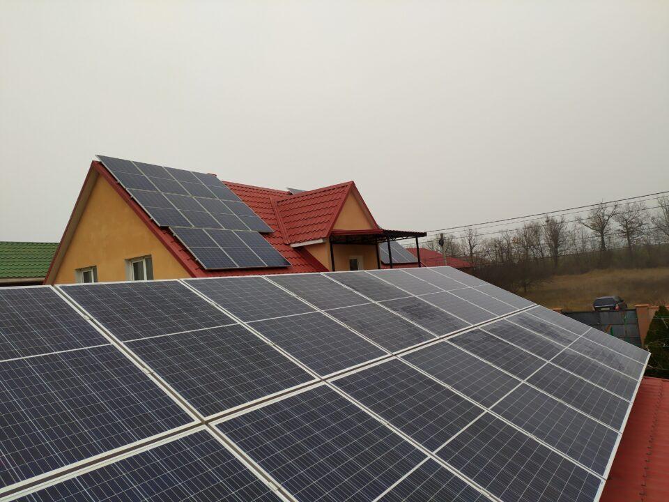 Солнечная станция Экофотон в г. Одесса
